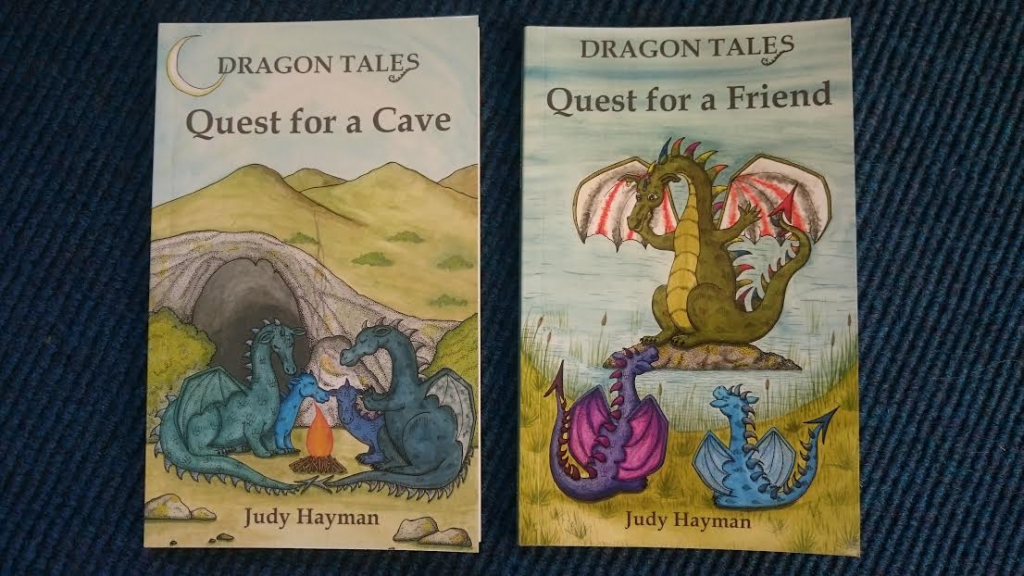The first two books in Judy Hayman's Dragons series.