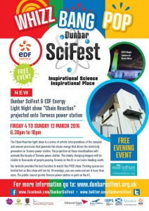 DSF A4 poster 2 - Chain Reaction Light Show Torness