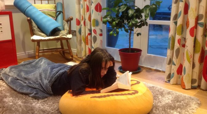 Hooked On Books – Look Where I am Reading!