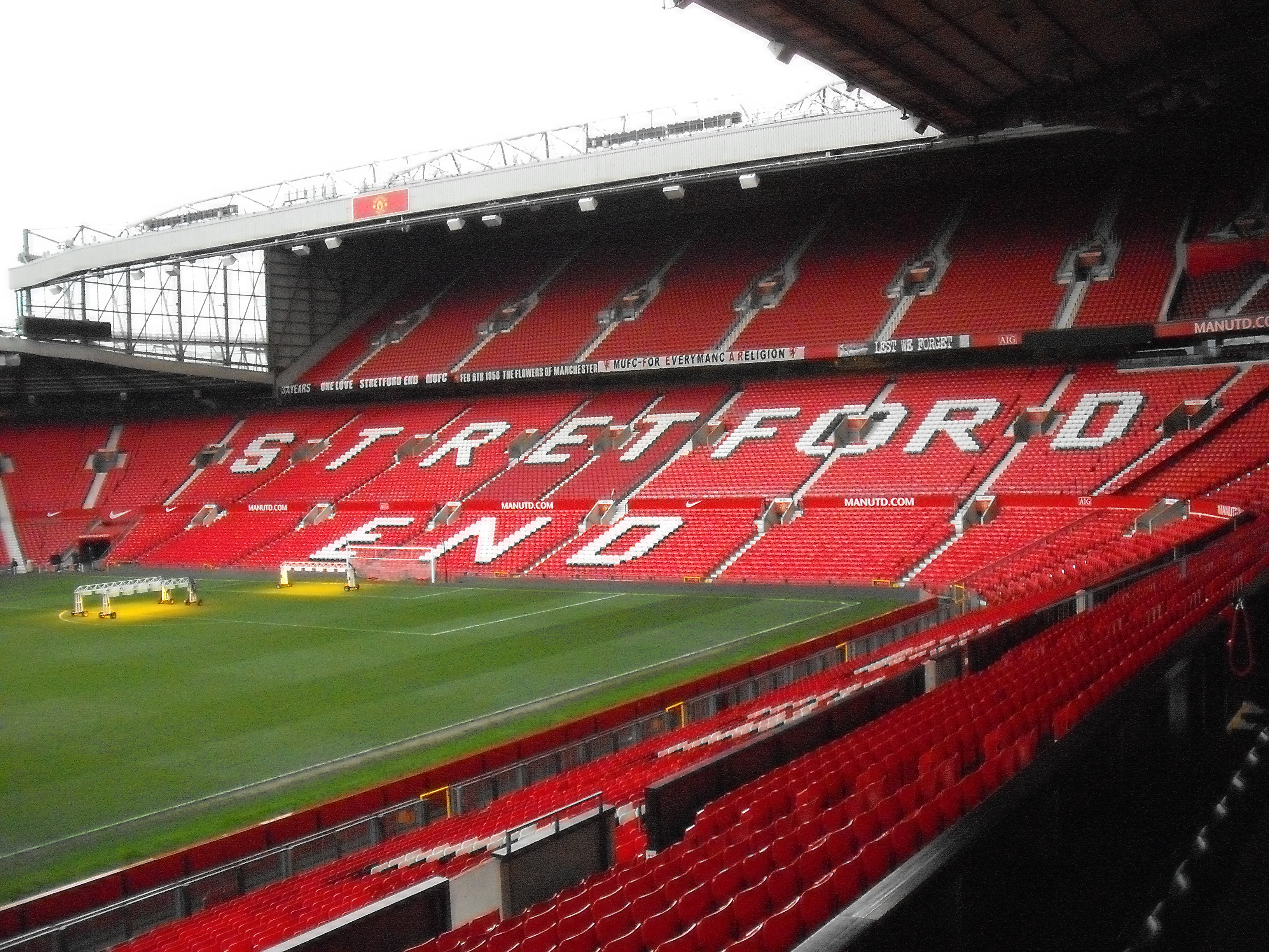 Manchester United Stadium Tour Trip Business Education Rhs