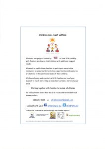 children-inc-east-lothian
