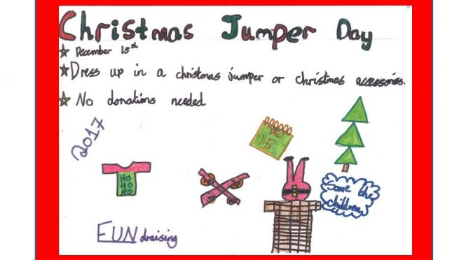Christmas Jumper Day – Friday 15th December