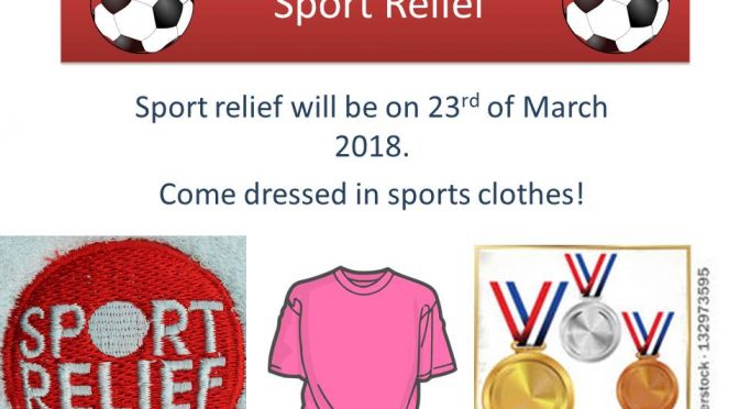 Sport Relief – 23rd March