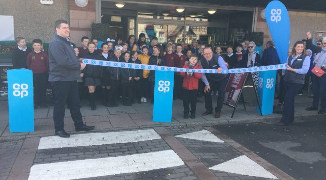 The opening of our newly refurbished local coop