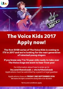 The Voice Kids Flyer