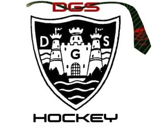 DGS HOCKEY LOGO - WHITE