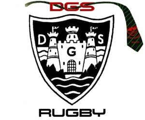 DGS RUGBY LOGO - WHITE