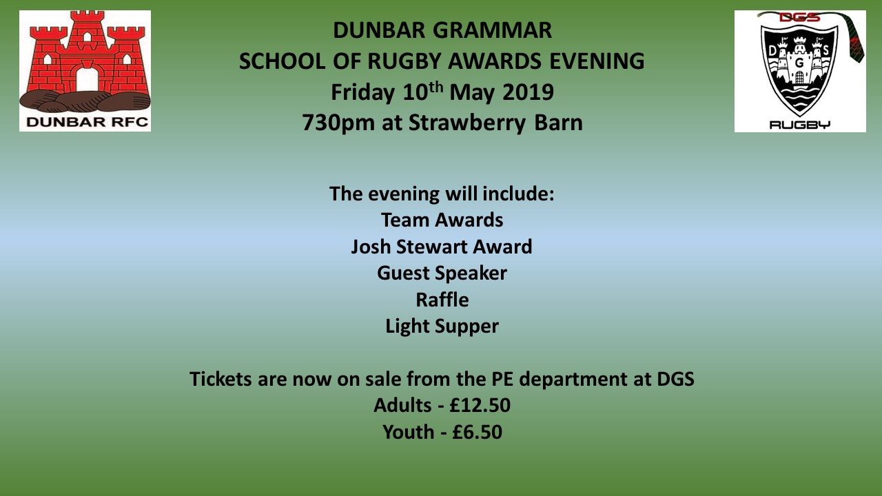 Update 3 May 2019 | Dunbar Grammar School
