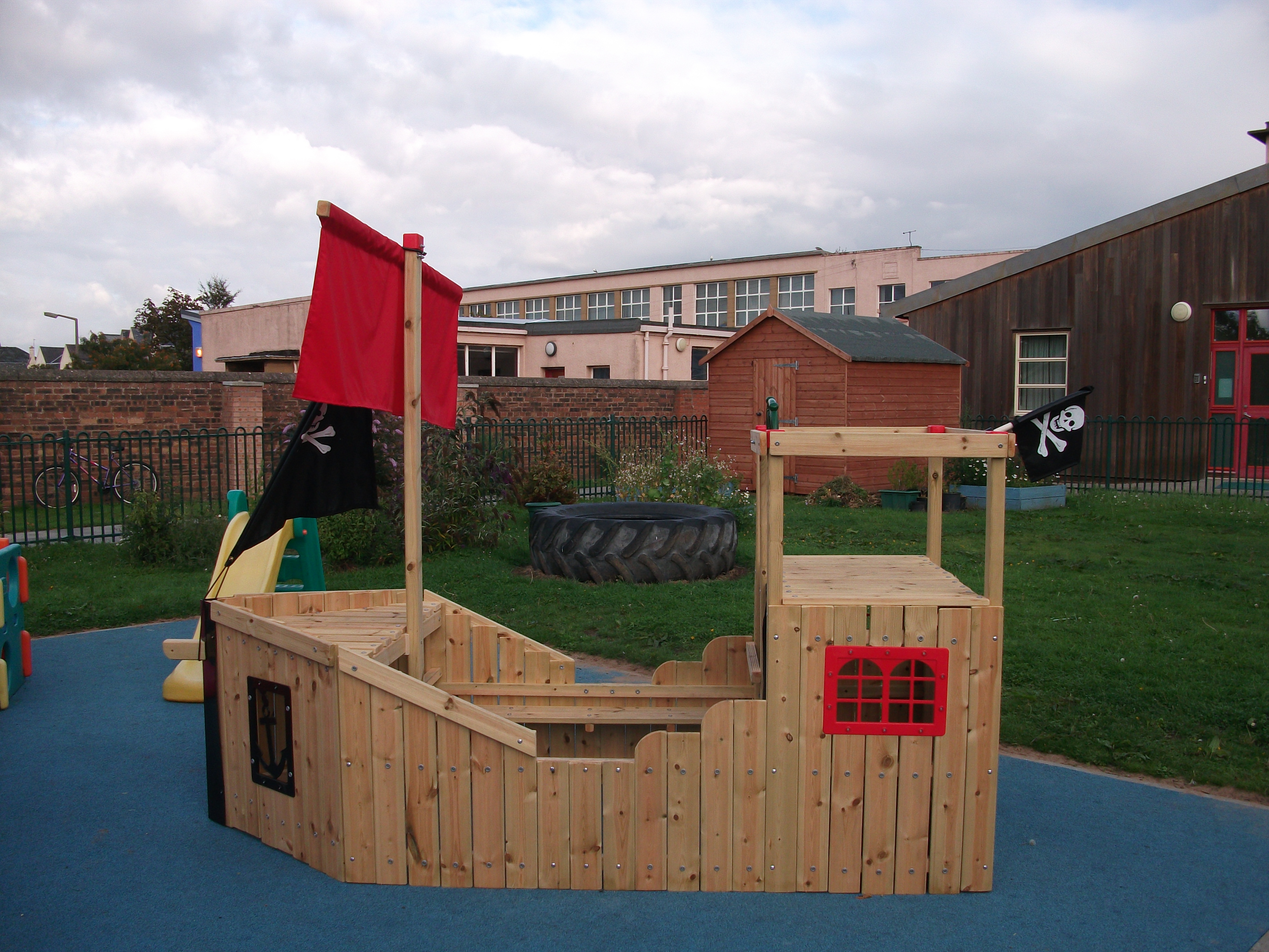 Superior This Is The Pirate Ship In The Woodland And Haven Garden. Mrs Latimer And  Mrs Ronan Got Their Work Tools Out And Constructed This Fantastic Play Area.