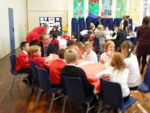 Pupil Council at the event
