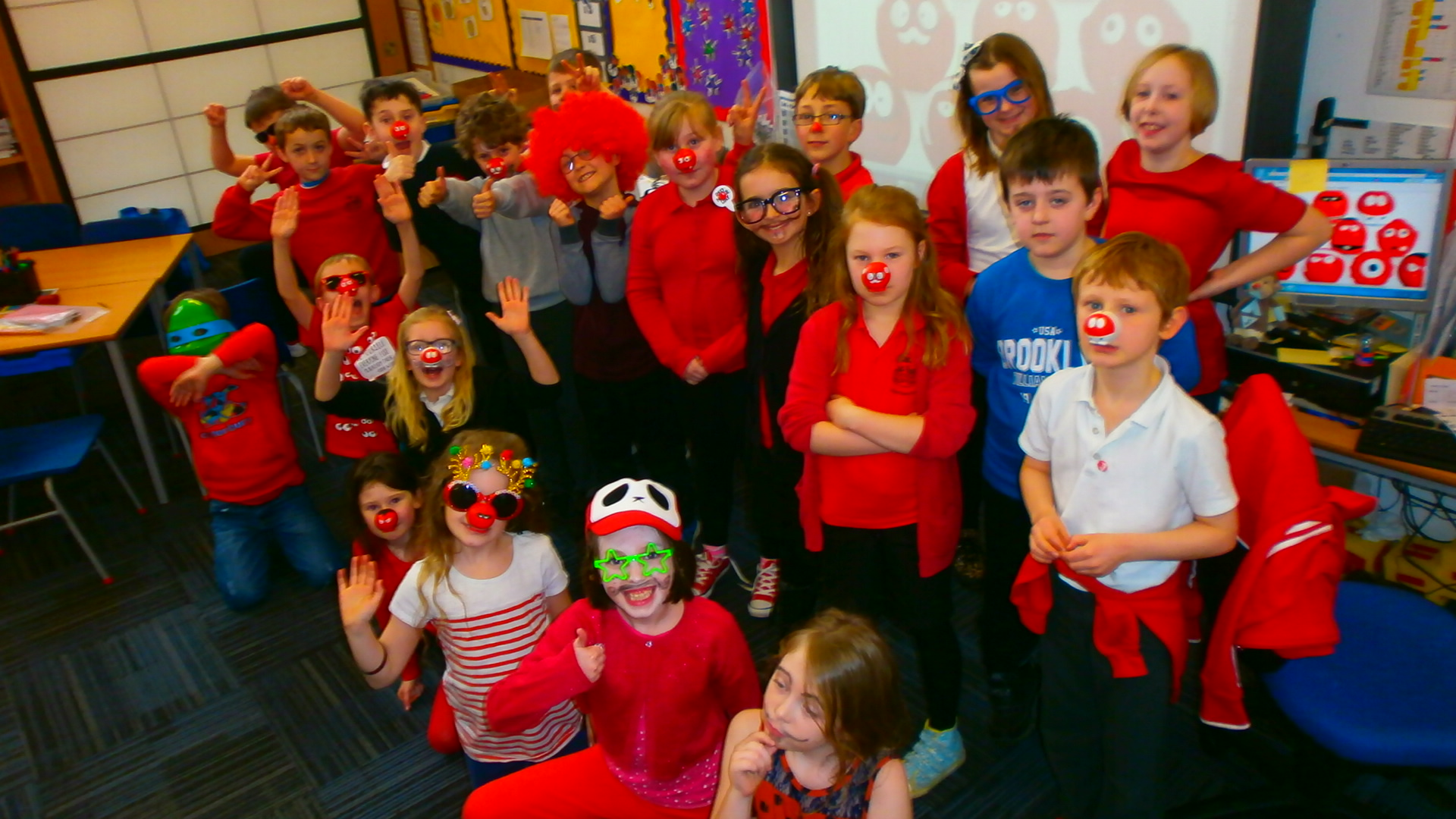 Red Nose Day Cakes Photos