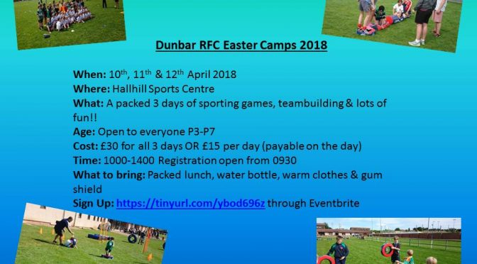 Easter Rugby Camps