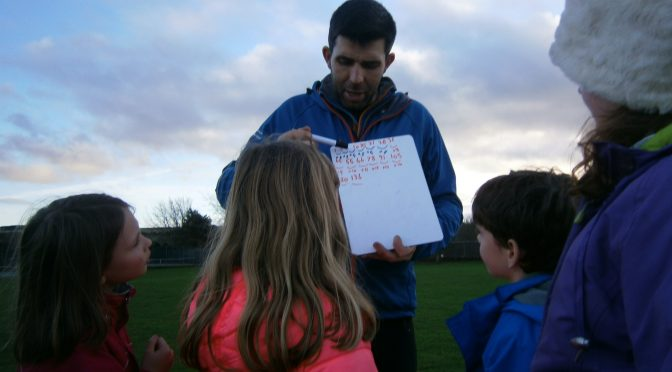 Primary 4 Outdoor Learning with Mr Pegg.