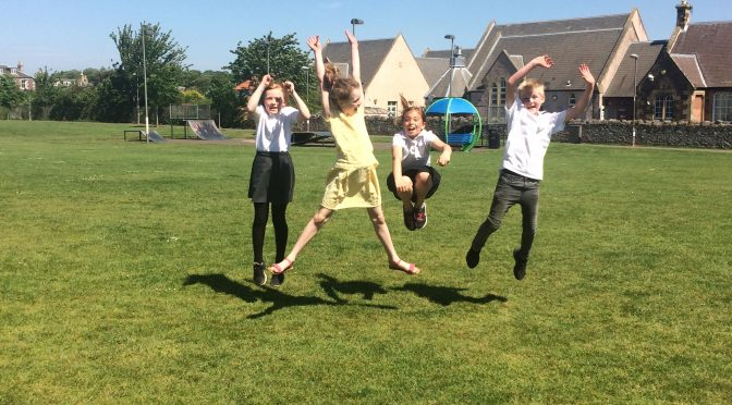 P4 and P5 enjoying the SUN!