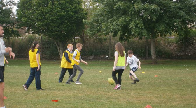 P6 & P7 at Meadowmill & P6 rugby