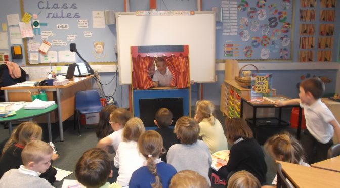 Primary 2 Fairy Tale Puppet Shows