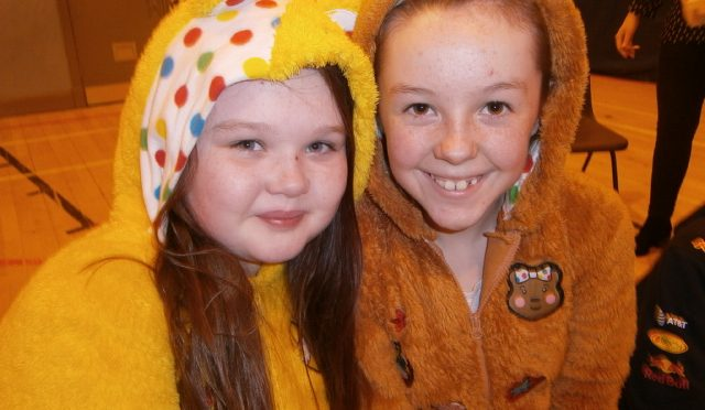 Well done everyone – we helped Pudsey!!