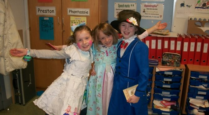 Primary 3 World Book Day