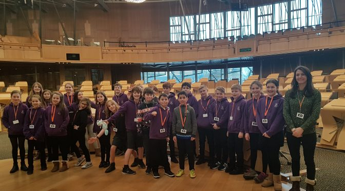P7 Visit the Scottish Parliament