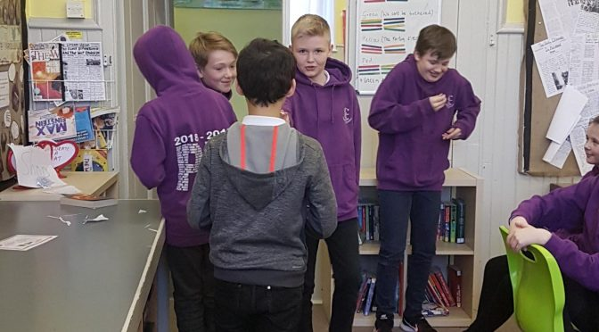 P7 learn about peer pressure