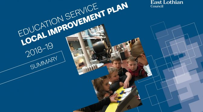EDUCATION LOCAL IMPROVEMENT PLAN 2018/19