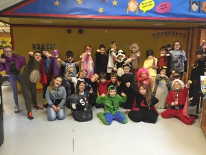 5A looking super for Children in Need 2014