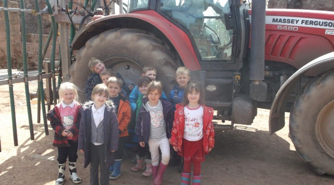 P1/2/3 Visit to Ruchlaw Mains Farm