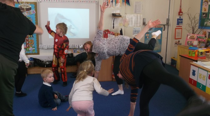 """We Dance, Wee Groove"" experience in Nursery"