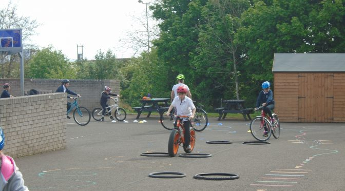 Bikeability and African Drummers