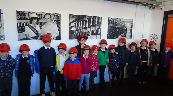 P1/2/3 Trip To The National Mining Museum Scotland