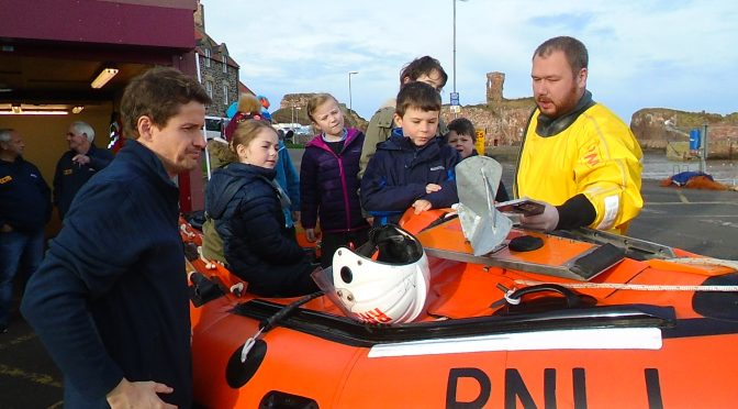 P1/2/3 Visit to Dunbar Lifeboat Station