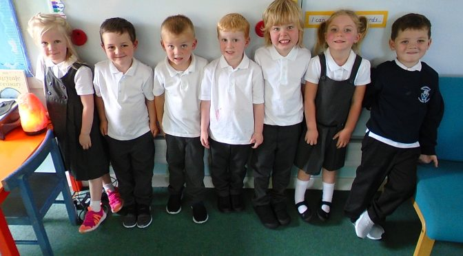 First Day Back In P1/2/3