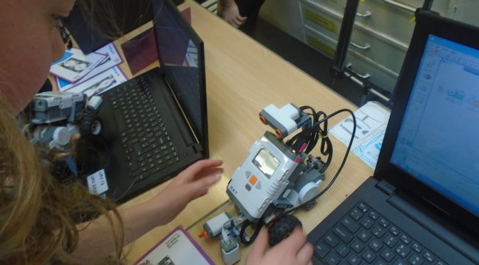 Lego Mindstorm in P4-7