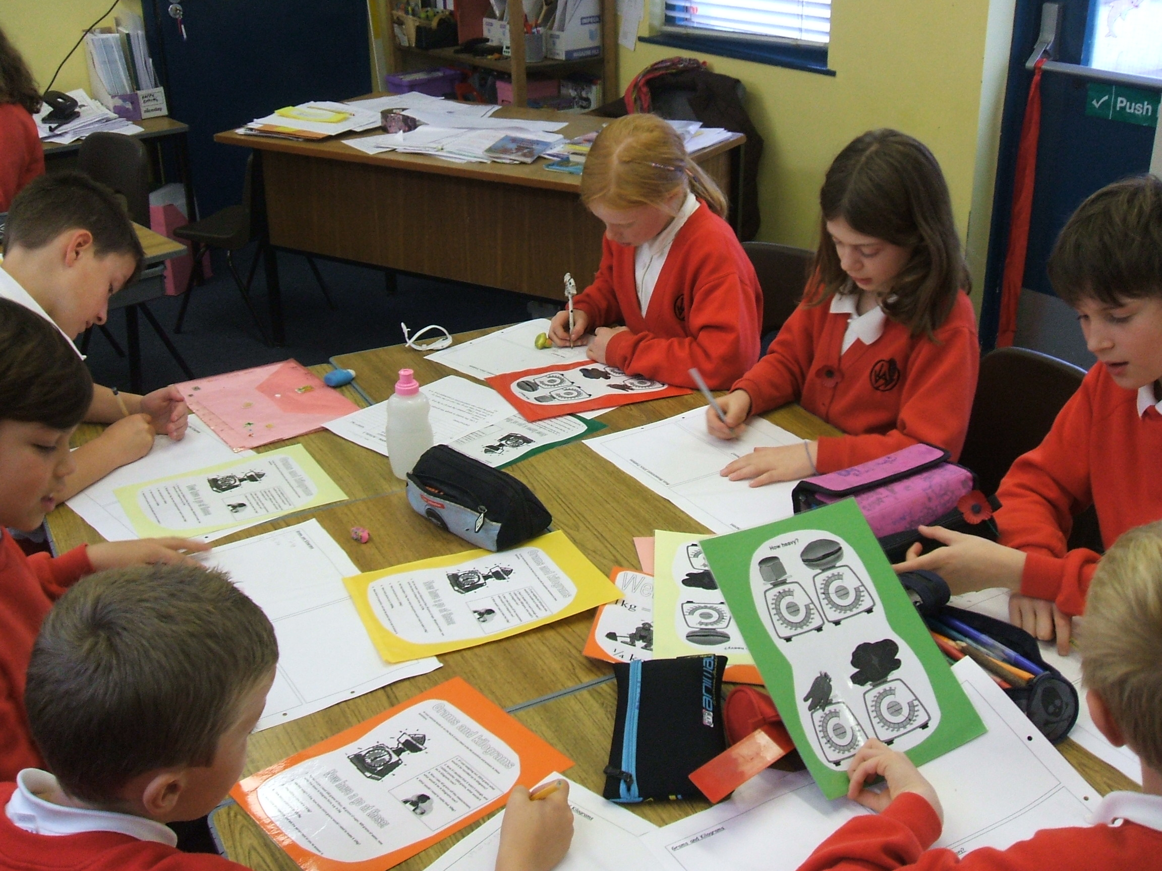 Primary 5 Maths – Weight Activities | Law Primary 5 Blog