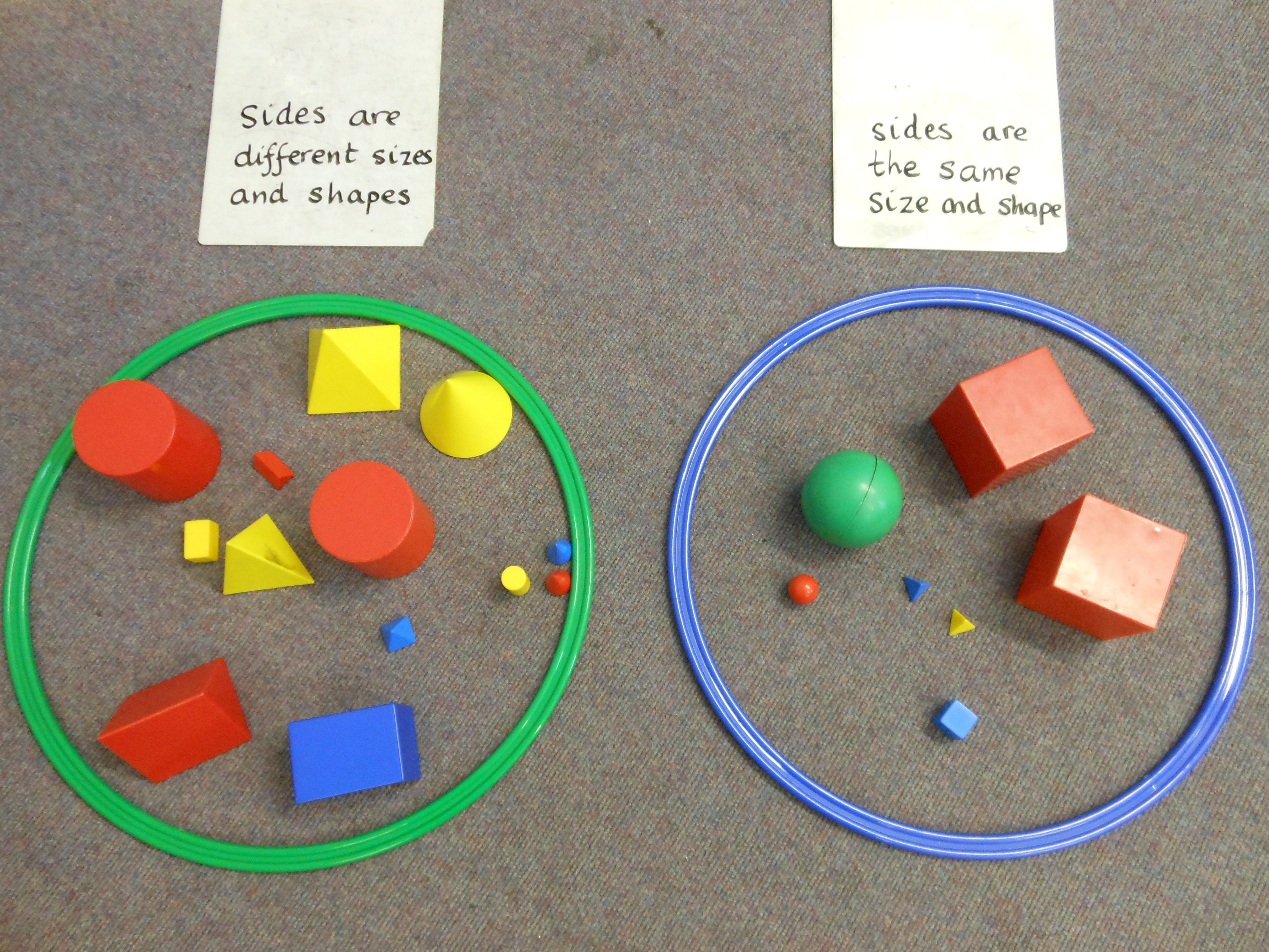 3D Shape in Primary 1 | Loretto RC Primary School, Musselburgh