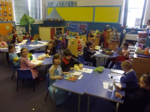 P2K worked hard to do their reading today