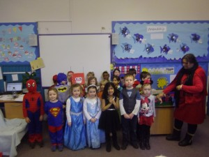 P1 all posed for a photo!