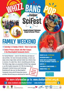 DSF A4 poster 4 -  Family Weekend