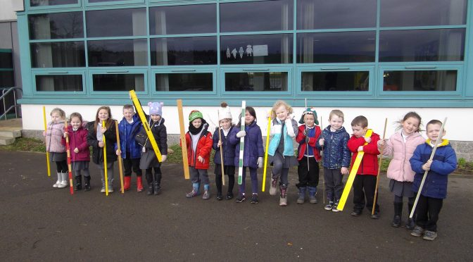 Learning about measure in P1