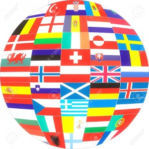 2371042-Flags-of-Europe-Countries-in-a-globe--Stock-Photo