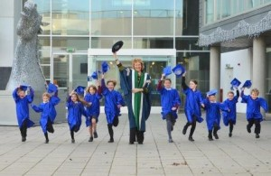 Queen Margaret Children's University graduation-QMU-Edinburgh-January 2015