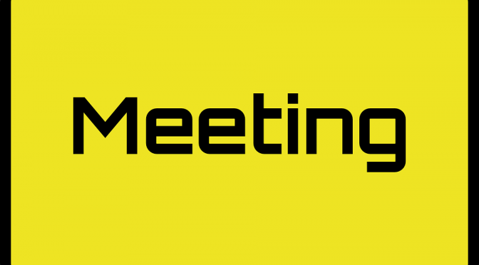 PTAMeeting Wednesday 20th January