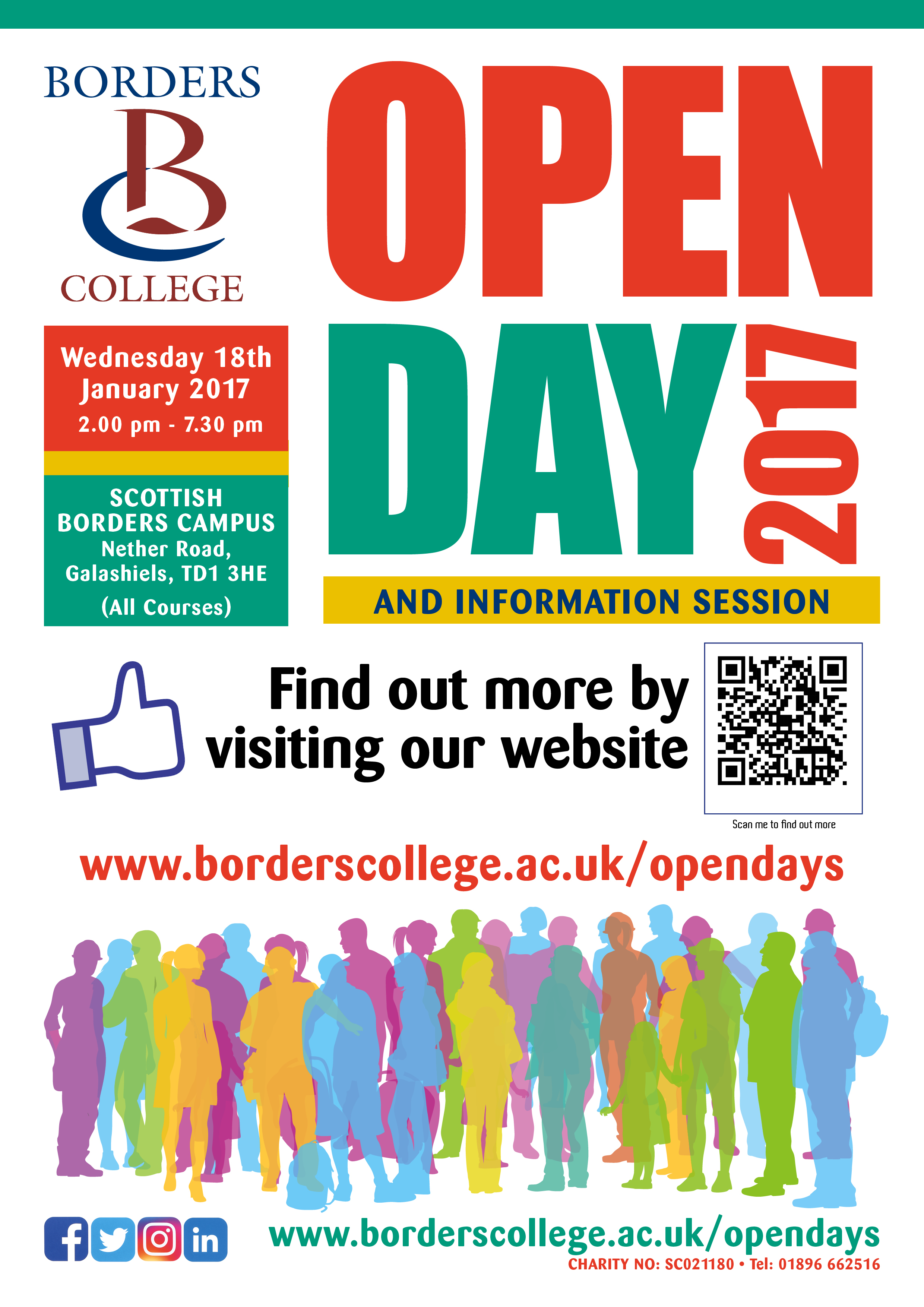 borders-college-open-day-poster