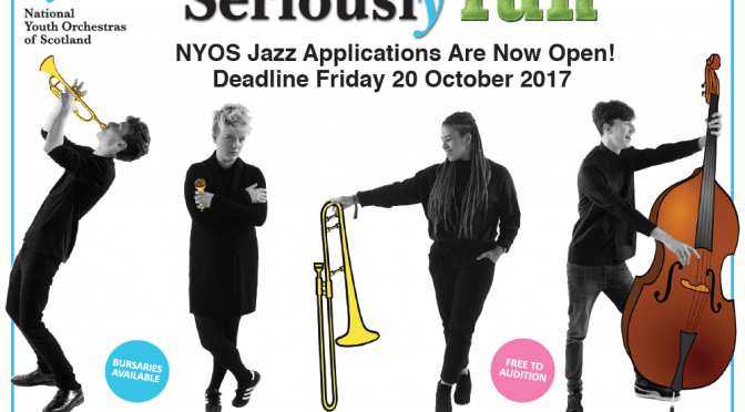 National Youth Orchestras of Scotland – Jazz Applications