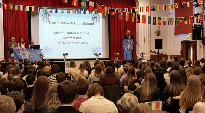 NBHS MUN Conference Report