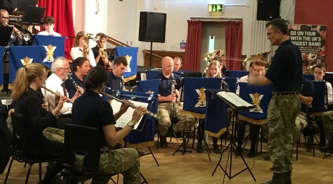 Visit from the Band of the Royal Regiment of Scotland