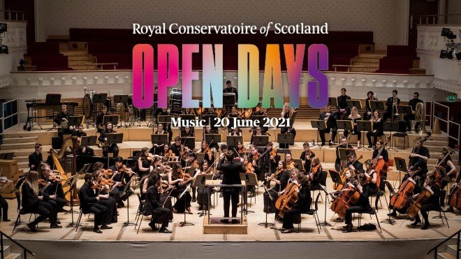 Royal Conservatoire of Scotland – Open Day