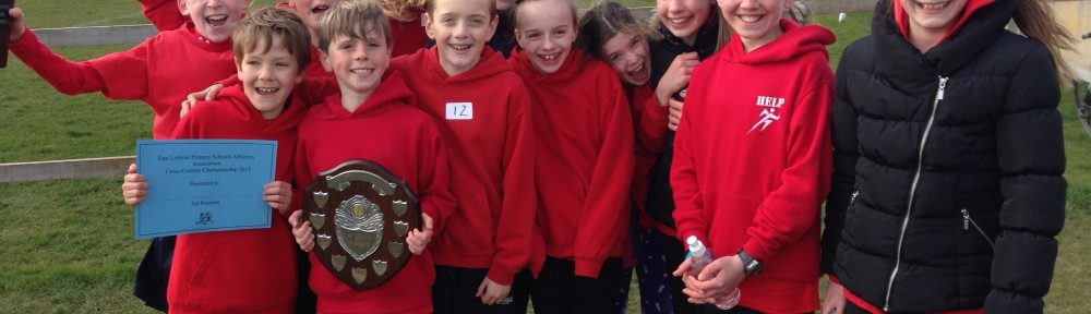 East Lothian Small School Cross Country Champions!