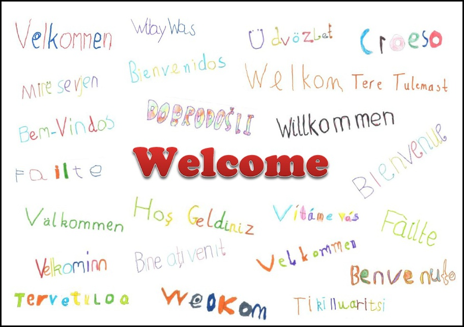 Welcome Poster Border