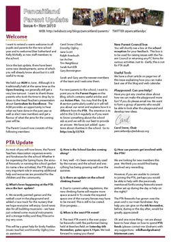 Click this image to view the PDF version of the latest Pencaitland Parent Update
